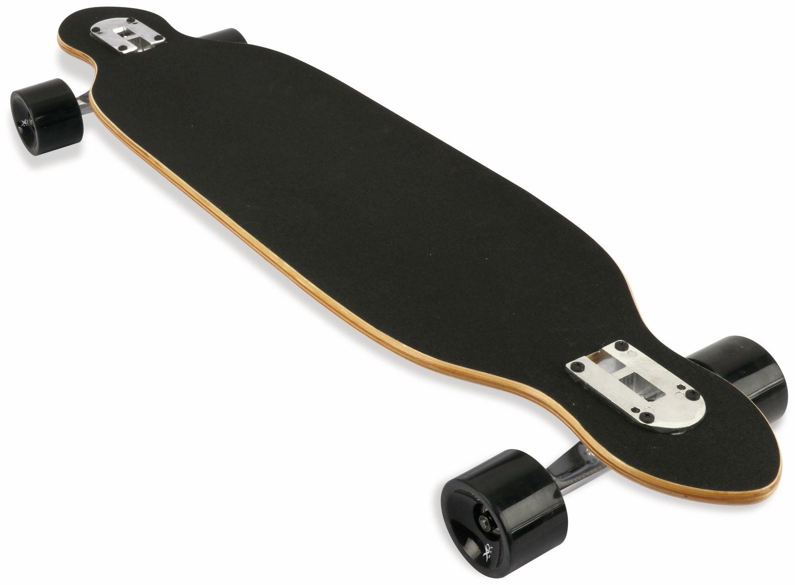 longboard xq max 128220680 96 cm schwarz wei online. Black Bedroom Furniture Sets. Home Design Ideas