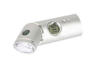LED-Knick-Taschenlampe mit Kompass