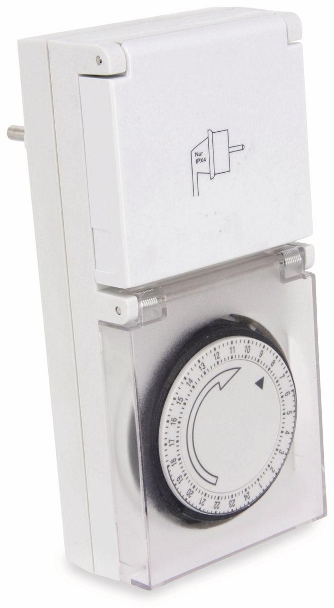 Zeitschaltuhr ZU-24A, analog,