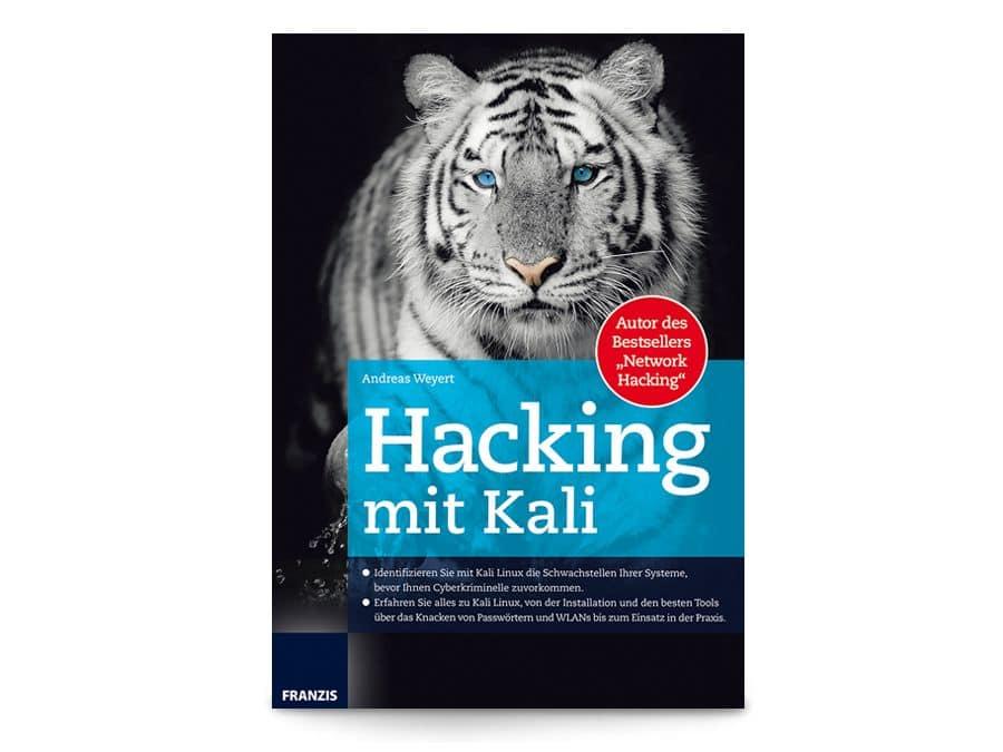 Buch Hacking mit Kali Franzis