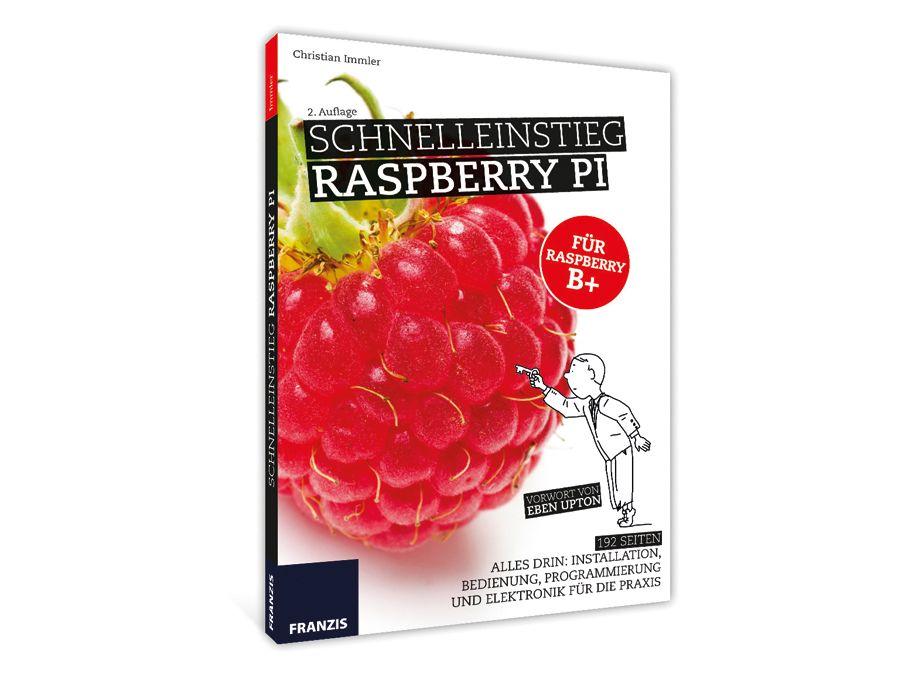 Buch Schnelleinstieg Raspberry PI