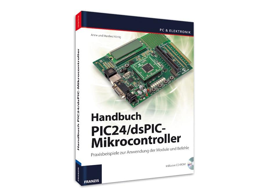 Buch PIC24/dsPIC-Mikrocontroller Franzis