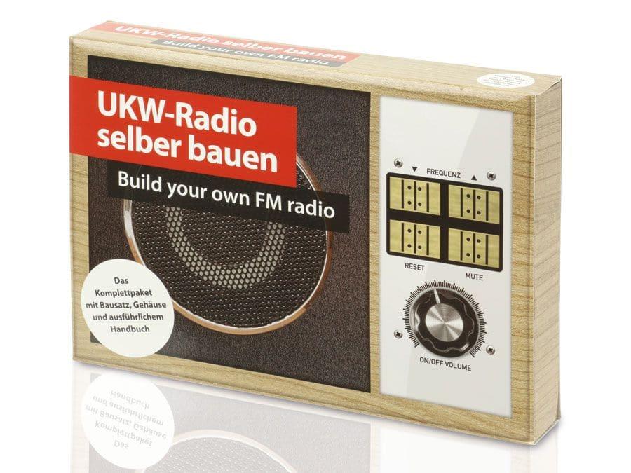 lernpaket ukw radio selber bauen lernpaket ukw radio selber bauen ebay. Black Bedroom Furniture Sets. Home Design Ideas