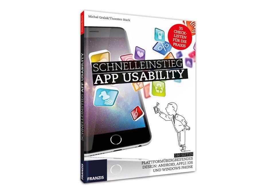 Buch Schnelleinstieg App Usability Franzis