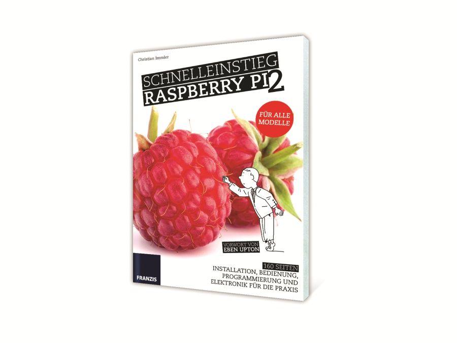 Buch Schnelleinstieg Raspberry Pi 2 Franzis