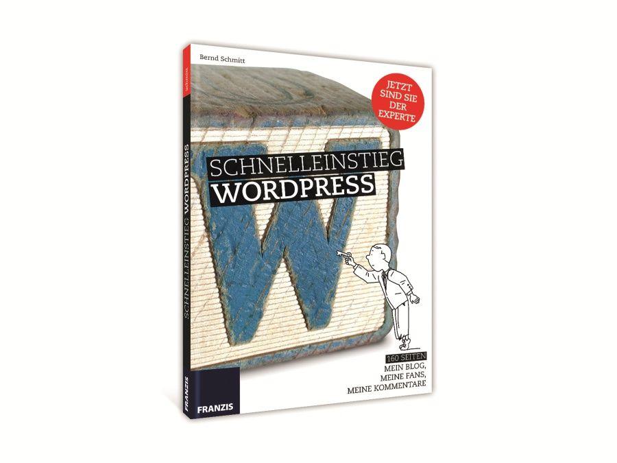 Buch Schnelleinsteig WordPress Franzis