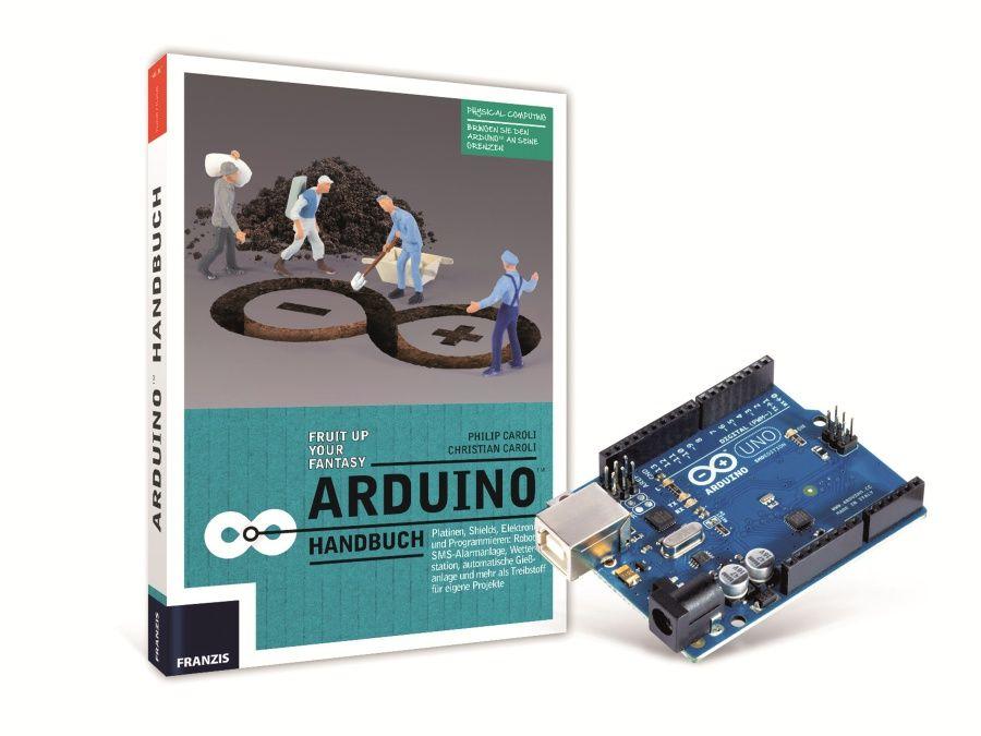 Arduino Bundle, Handbuch + Arduino Franzis