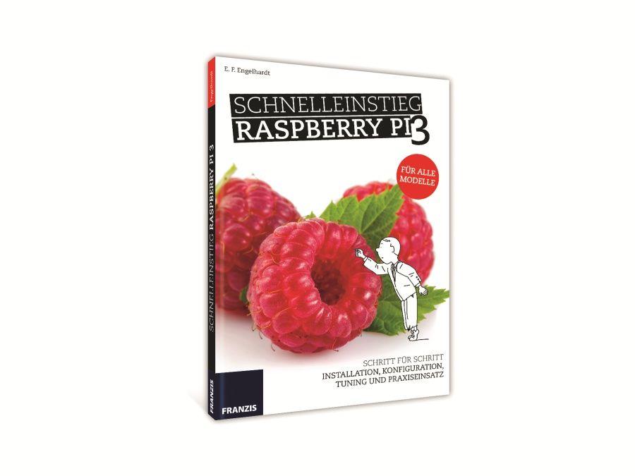 Buch Schnelleinstieg Raspberry Pi 3 Franzis