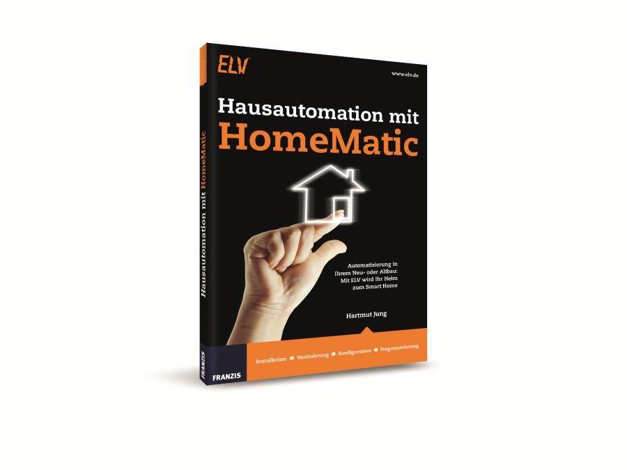 Buch Hausautomation mit HomeMatic Franzis