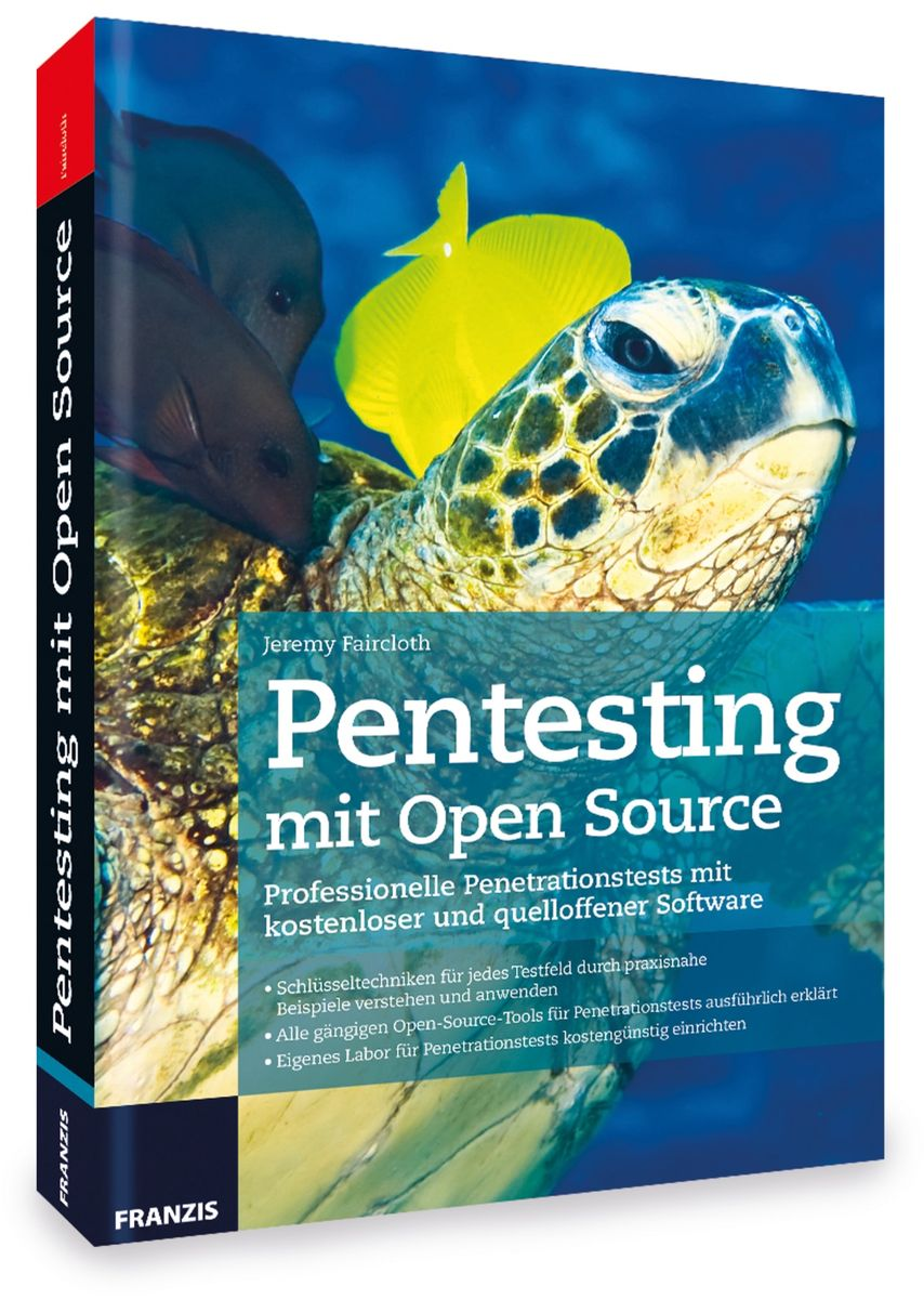 Buch FRANZIS Pentesting mit Open Source