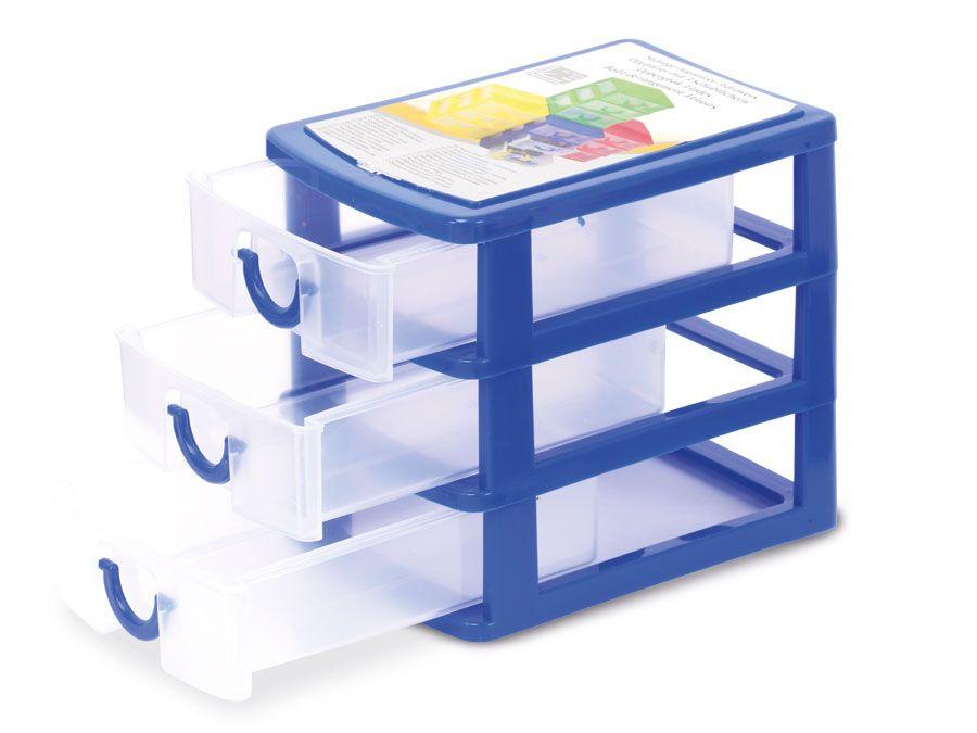 Schreibtisch organizer mit 3 schubf chern ebay for Schreibtisch organizer kinder