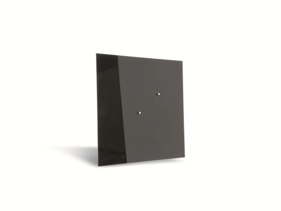 glas magnetboard hama belmuro 50x50 cm schwarz magnettafel hama belmuro ebay. Black Bedroom Furniture Sets. Home Design Ideas