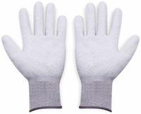 Vorschau: QUADRIOS, 1903EC067, ESD Handschuhe mit Beschichtung L