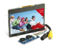"Vorschau: 4,3"" (10,9 cm) Display-Set JD43T30-C/MEX043TM-40D-HYO-CO, CVBS"