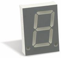 Vorschau: LED-Anzeige LIGITEK LSD8155-20-PF, rot, 20,3 mm
