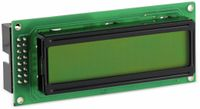 Vorschau: LCD-Modul, ANAG VISION, AV1623YFTY-SJW, 16X2