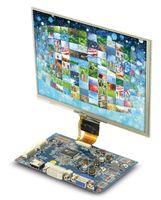 "Vorschau: LCD-SET LS-8T, 8"", 1024x768, Touch, HDMI/DVI/VGA/CVBS, 12V-, B-Ware"