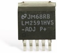 Vorschau: SMD Spannungsregler NATIONAL LM2591HVS-ADJ SIMPLE SWITCHER®