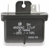 Vorschau: Motorbetriebskondensator SH, 1,7 µF/450 V~