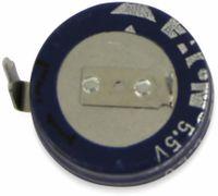 Vorschau: Gold Cap-Elko, Eaton, 0,33 F, 5,5 V, 11,5x5,2 mm