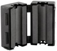 Vorschau: Klappferrit, Entstörfilter RF75 200 Ω für Kabeldurchmesser 6,5 mm (Max.)