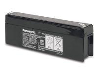 Vorschau: Bleiakkumulator PANASONIC LC-R122R2PG, 12 V-/2,2 Ah, VdS