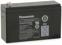 Vorschau: Bleiakkumulator PANASONIC UP-VWA1232P2, 12 V-/6,5 Ah