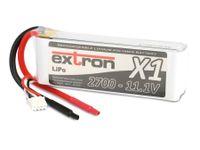 Vorschau: Modellbau-Akkupack EXTRON X1, LiPo, 11,1 V-/2700 mAh