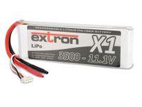 Vorschau: Modellbau-Akkupack EXTRON X1, LiPo, 11,1 V-/3500 mAh