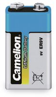 Vorschau: 9V-Blockbatterie, Lithium, Camelion CR9, 1 Stück