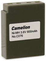 Vorschau: NiMH-Akkupack 3,6V/600mAh Camelion 1 Stück