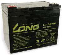 Vorschau: Blei-Akkumulator KUNG LONG U1-36NE, 12 V-/36 Ah, zyklenfest