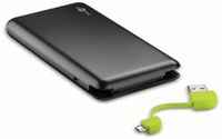 Vorschau: USB Slim Powerbank GOOBAY 64559, 8.000 mAh, schwarz