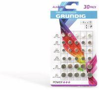 Vorschau: Knopfzellen-Set GRUNDIG 30 Stück