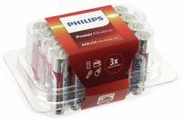 Vorschau: Micro-Batterie-Set PHILIPS Power Alkaline, 24 Stück