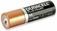 Vorschau: Mignon-Batterie, DURACELL, DURALOCK, PLUS POWER, 12 Stück