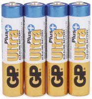 Vorschau: Micro-Batterien GP ULTRA PLUS ALKALINE, 4 Stück