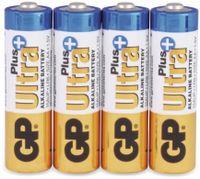 Vorschau: Mignon-Batterien GP ULTRA PLUS ALKALINE, 4 Stück