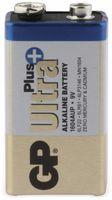 Vorschau: 9V-Blockbatterie GP ULTRA PLUS ALKALINE, 1 Stück