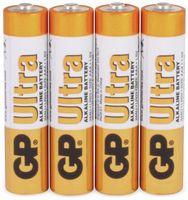 Vorschau: Micro-Batterien GP ULTRA ALKALINE, 4 Stück