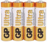 Vorschau: Mignon-Batterien GP ULTRA ALKALINE, 4 Stück