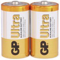 Vorschau: Baby-Batterien GP ULTRA ALKALINE, 2 Stück