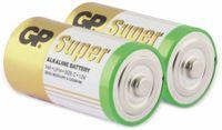 Vorschau: Baby-Batterie-Set GP SUPER Alkaline 2 Stück