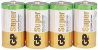 Vorschau: Baby-Batterie-Set GP SUPER Alkaline 4 Stück