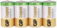 Vorschau: Mono-Batterie-Set GP SUPER Alkaline 4 Stück