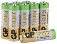 Vorschau: Mignon-Batterie-Set GP SUPER Alkaline, 8 Stück