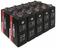 Vorschau: 9V-Blockbatterie, ANSMANN, INDUSTRIAL, Alkaline, 10 Stück