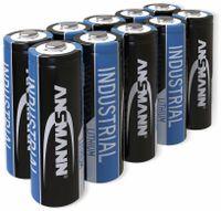 Vorschau: Lithium-Batterie, ANSMANN, INDUSTRIAL, Mignon, 10 Stück