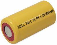 Vorschau: NiMH-Sub-C-Zelle-Akku XCELL, 2000 mAh, 1,2 V-, 43x22,5mm