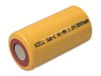 Vorschau: Sub-C-Zelle, XCELL, NiMH, 1,2V/2000mAh, 43x22,5mm